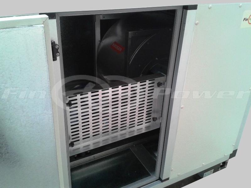 Fresh Air Handling Unit Treated Fresh Air Fahu Finpower India